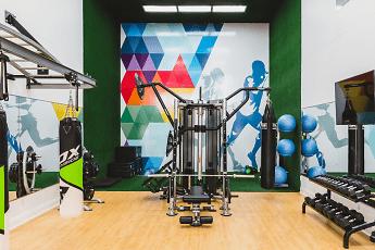 Fitness Weight Room, Alister Nanuet, 1