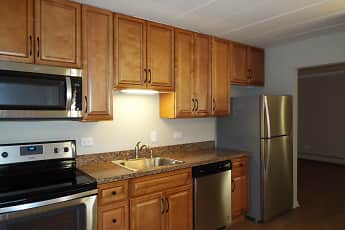 Kitchen, Riviera Apartments, 0