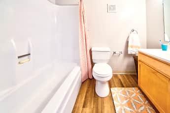 Bathroom, Ramblewood Village, 2