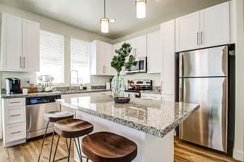 Kitchen, Aero Luxury Townhomes, 0