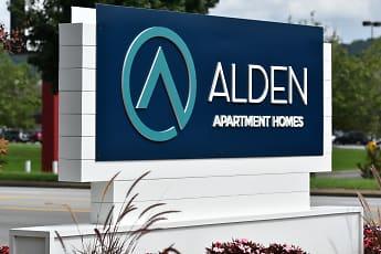 Community Signage, Alden Apartment Homes, 0