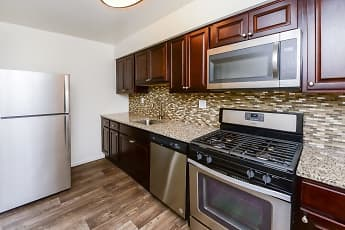 Kitchen, Brookside Manor Apartments & Townhomes, 0