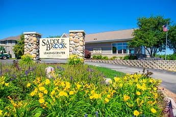 Community Signage, Saddle Brook Apartments, 0