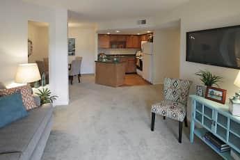 Living Room, Creek Bay At Meridian Woods, 0
