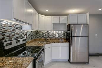 Kitchen, Birchwood Apartments, 0