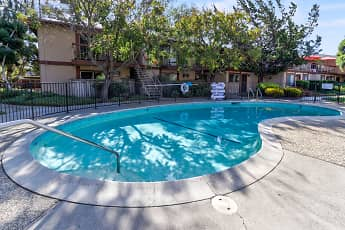 Pool, Mira Loma Apartments, 0