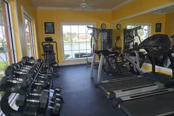 Fitness Weight Room, Lago Club Apartments, 0