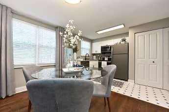Dining Room, Emerson Apartments, 0