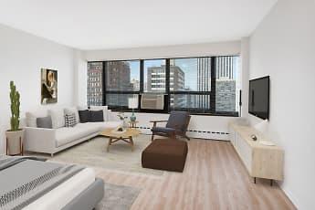 Living Room, 350 W. Oakdale, 1