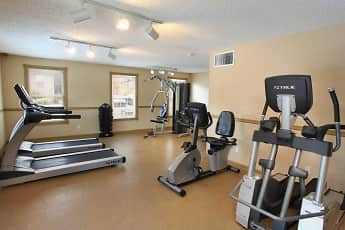 Fitness Weight Room, The Legacy Apartments, 1