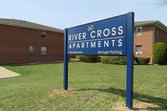 Community Signage, River Cross Apartments, 0