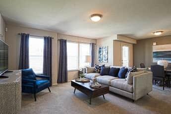 Living Room, Scissortail Crossing, 1