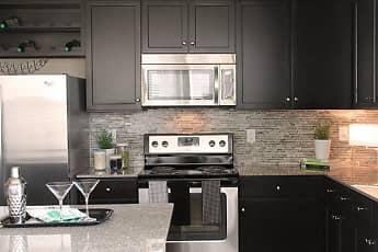 Kitchen, Stone Pointe Apartments, 1
