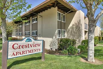 Community Signage, Crestview Apartments, 0