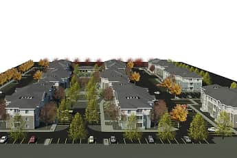 Community Signage, The Redwoods at University District, 2