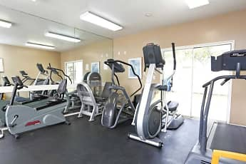 Fitness Weight Room, Civic Plaza, 2