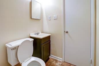 Bathroom, Vantage Apartments, 2