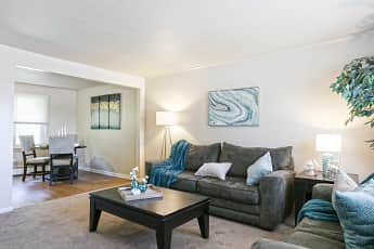Living Room, Colonial Townhouse Apartments, 0