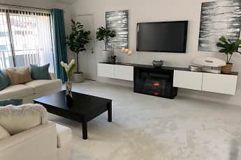 Living Room, Imperial Village Apartments, 0