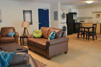 Living Room, Copper Beech Commons - Per Bed Lease, 0