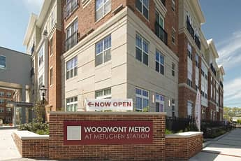 Community Signage, Woodmont Metro at Metuchen Station, 2