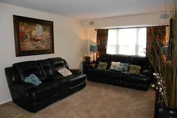 Living Room, Brandywine Apartments, 2