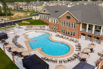 Pool, Villages at Raleigh Beach Apartments, 0