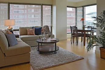 Living Room, Spectra Boutique Downtown Apartments, 1