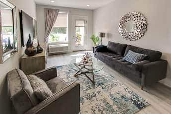 Living Room, 215 Ridge at Bound Brook, 0