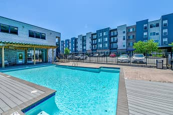 Pool, Shockoe Valley View Apartments, 0