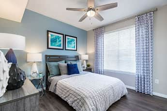 Bedroom, The Arbors at Carrollwood Apartments, 1