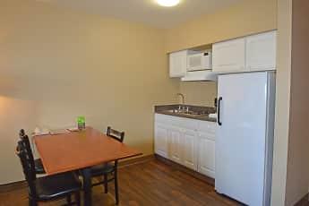 Kitchen, Furnished Studio - Anchorage - Midtown, 1
