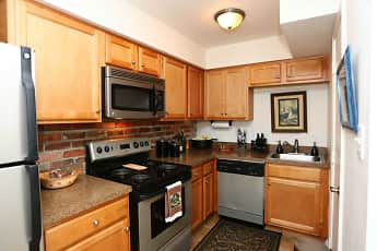 Kitchen, The Jamestown Apartments, 0