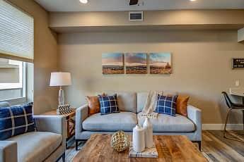 Living Room, Riverside Park Apartments, 1