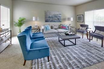 Living Room, Barton Creek Villas, 1