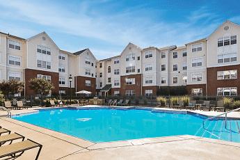 Pool, University Courtyard, 1