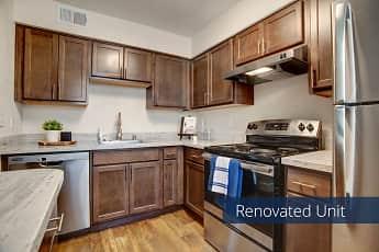 Kitchen, Indigo Apartment Homes, 1
