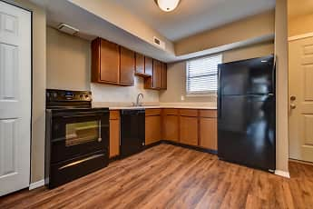 Kitchen, Silver Springs Apartments, 2