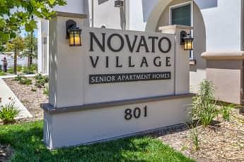 Community Signage, Novato Village Senior Apartments, 0