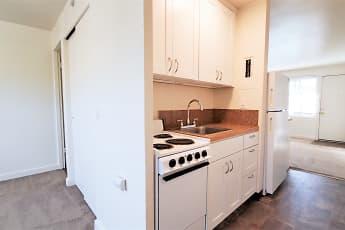 Kitchen, Westernaire Apartments, 0