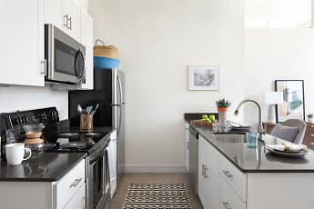Kitchen, Billy Byrd Lofts, 0