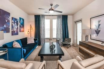 Living Room, Coda Apartments, 1
