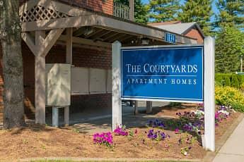 Community Signage, The Courtyards, 2