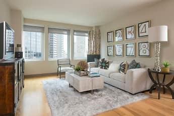 Living Room, Gables Republic Tower, 1