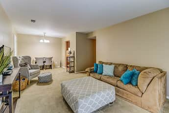 Living Room, Chapelwood Place Apartments, 0