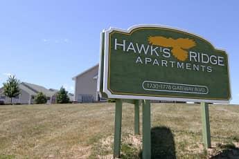 Community Signage, Hawk's Ridge Apartments, 1