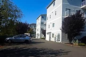 Building, New England Apartments, 1