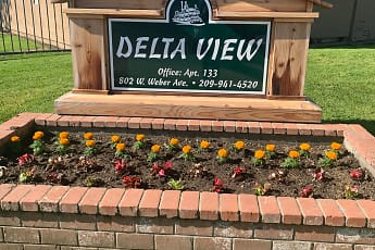 Community Signage, Delta View Apartments, 0