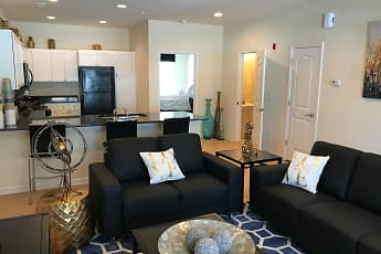 Living Room, Deacon's Station - Student Living, 2