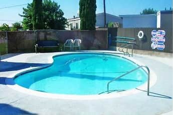 Pool, Shady Grove Manufactured Home Community, 1